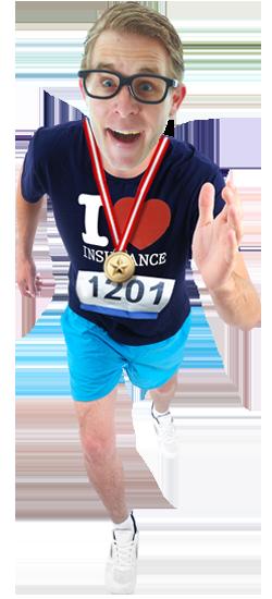 travel insurance running